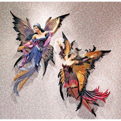 Classic Enchanted Fairy Wall Sculpture Decor
