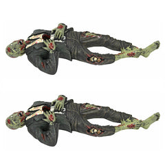 Impaled Zombie Desk Accessory - SET of 2