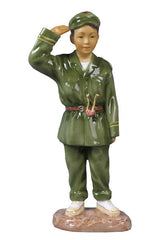 Oriental Youth- Childhood Dream - Ethnic Collectibles. Sculpture