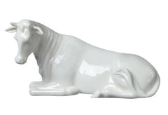 Nativity - Cow (White) - Religious.