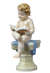 Infant-Reading On Corinthian Column - Infant