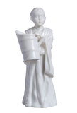 Tibetan - Lama With Water Bucket(White) - Orient