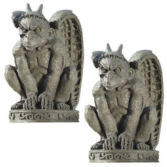 "12"" Cathedral Gargoyle Dragon Statue Sculpture Figurine"