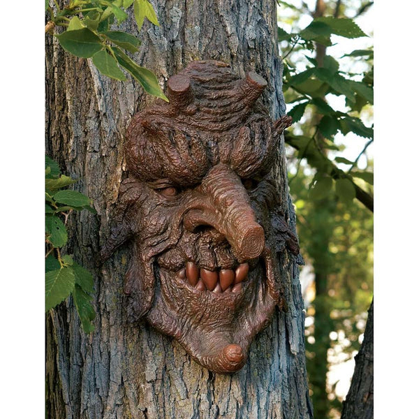 "14"" Mystical Scary Forest Tree Home Garden Statue Sculpture Figurine"