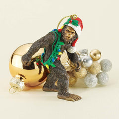 Holiday Yeti Holiday Ornament
