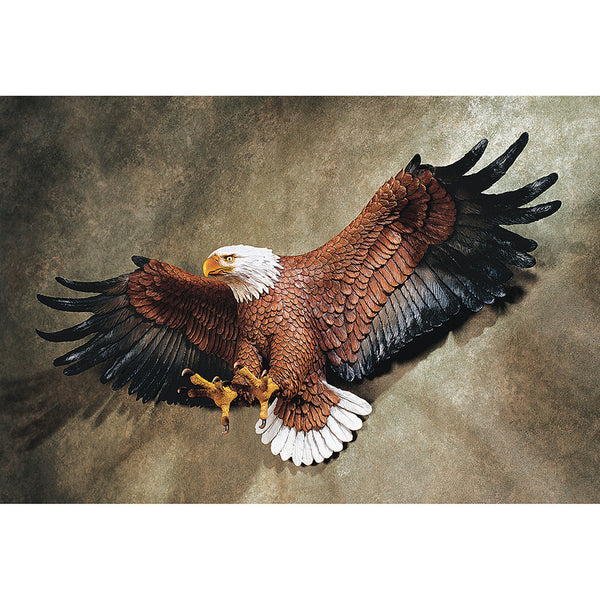 American Eagle Sculptural Wall Figurine Hanging