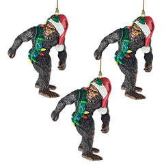 "3"" Holiday Yeti Holiday Ornament - Set of 3"