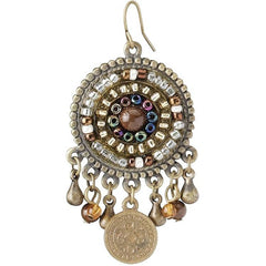 Classic Indian Royal Raja's Wife Earrings