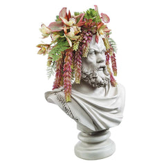 SOCRATES BUST PLANTER