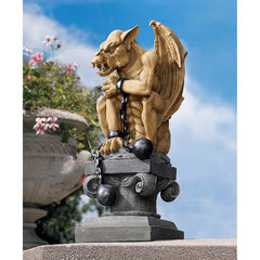 "15"" Classic Bounded Castle Gothic Dungeon Gargoyle Statue (Xoticbrands)"