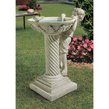 "31"" Playing Splash Child Home Garden Sculptural Column"