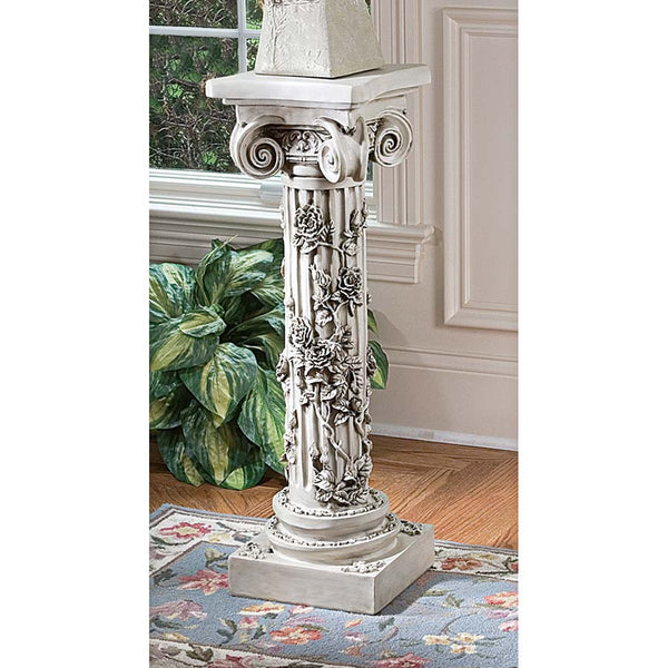 ROSE GARLAND PEDESTAL
