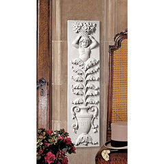 Baroque Angel Sculpture Wall Frieze Decor