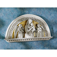 "14"" Blessed Virgin Mary and Jesus Religious Arch Christian Catholic Wall Scul..."