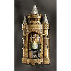 CASTLE TOWER GOTHIC WALL SCULPTURE