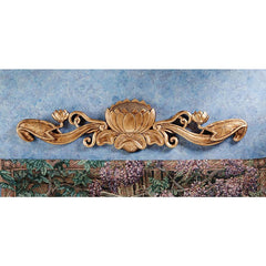 "8"" Art Nouveau Wall Pediment (XoticBrands)"