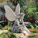 SUNFLOWER FAIRY STATUE