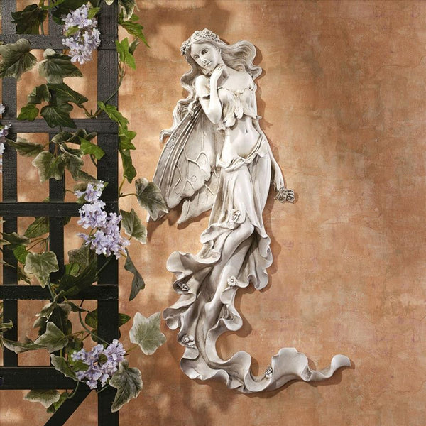 "23"" the Summer Breeze Fairy Wall Sculpture By Candice Pennington"