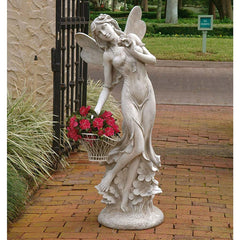 "50""h Large Pixie Fairy Home Garden Statue Sculpture Figurine"