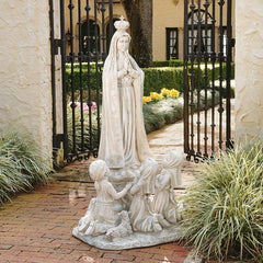ESTATE OUR LADY OF FATIMA STATUE