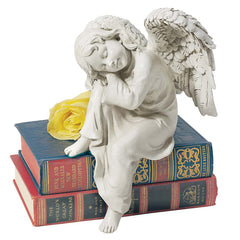 "13.5"" Child Angel Cherub Desktop Statue Sculpture Figurine [Kitchen]"