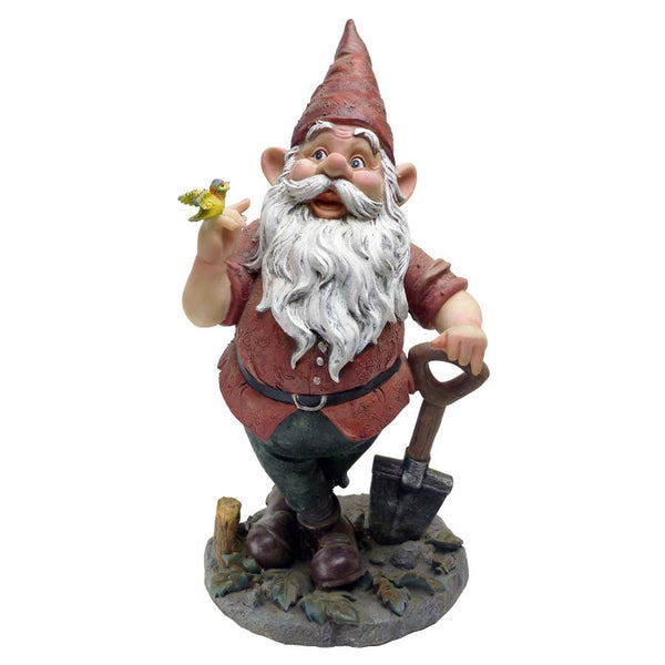 "15.5"" Home Garden Gnome Statue Sculpture Figurine"
