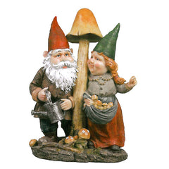 "16"" Home Garden Collectible Gnome Statue Sculpture Figurine"