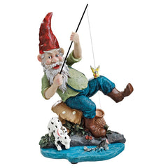 "12"" Home Garden Collectible Gnome Statue Sculpture Figurine"