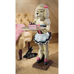 Poodle Serving Table