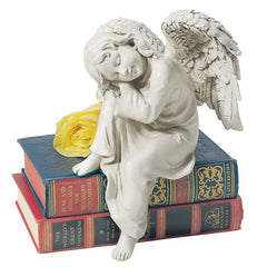 "13"" Little Child Angel Desktop Statue Sculpture Figurine - Set of 2"