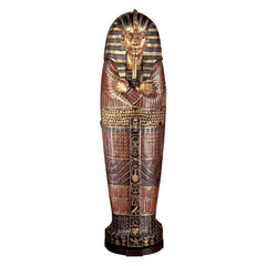 KING TUT SARCOPHAGUS BOOKSHELVES
