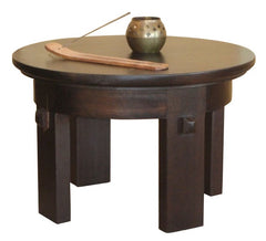 Seagrass Meditation Mango Wood Side Table