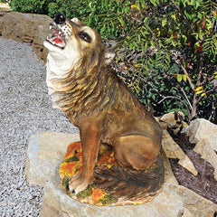 CLEVER COYOTE STATUE