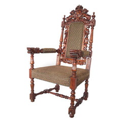 GRAND OCCASION HERALDIC ARM CHAIR