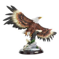 "12.5"" American Eagle Sculpture Statue Figurine"