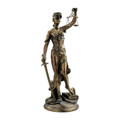 "36.5"" Greek Goddess of Justice Law Office Statue Sculpture Figurine"