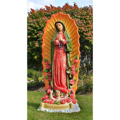 "46""h The Virgin of Mary Religious Statue Sculpture"