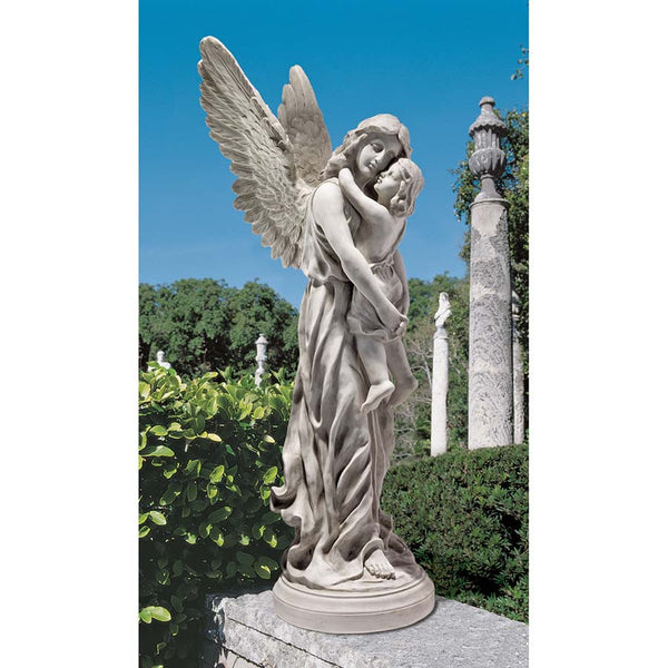 HEAVENS GUARDIAN ANGEL STATUE