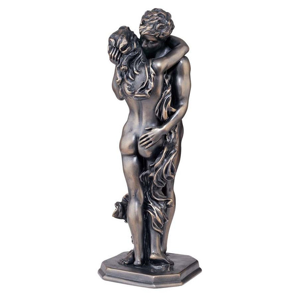 "15"" Classic Nude Erotic Couple Bronze Sculpture Statue Figurine [Kitchen]"