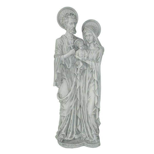 LARGE HOLY FAMILY STATUE