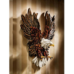 "15"" American Eagle Wall Sculpture Statue Figurine [Kitchen]"
