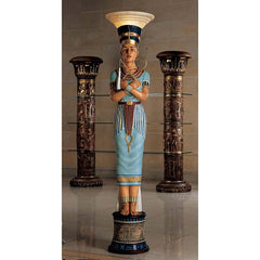 QUEEN NEFERTITI FLOOR LAMP