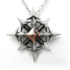 Chaostar Gothic Pendant by Alchemy Jewelry