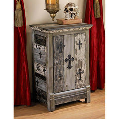 GOTHIC SANCTUARY SIDE TABLE CABINET