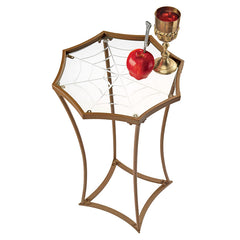 BLACK WIDOWS WEB METAL SIDE TABLE