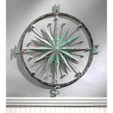 Rose of the Winds Compass Rose Wall Sculpture