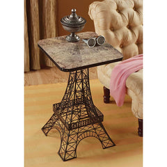 Eiffel Metal Side Table