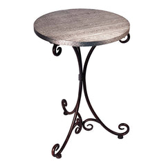 Elegant Beziers Metal Bistro Table