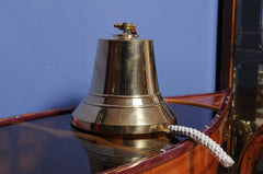 XoticBrands Decor Ship Bell-10 inches Model Display