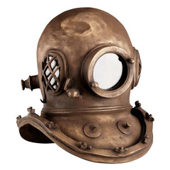 Bronze Finish Replica Deep Sea Diver's Collectible Home Gallery Museum Helmet